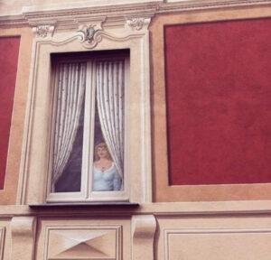 finestre dipinte Liguria
